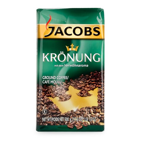Jacobs Kronung Ground Coffee 500g 12pcs