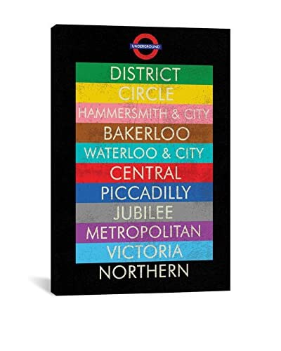Erin Clark London Gallery Wrapped Canvas Print