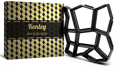 kenley-17-x-17-inch-path-maker-mould-reusable-concrete-cement-stone-design-paver-walk-maker-mold-pat