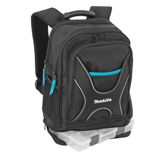 51NJ9x XijL - BEST BUY #1 Aparoli Makita P-72017 Backpack for Tools and Travel with Small Item Organiser