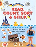 img - for Read, Count, Sort & Stick: Activity Play With Over 200 Reuseable Sticker (Super Stickers) book / textbook / text book