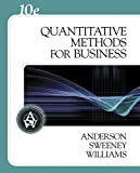img - for Quantitative Methods for Business (with Crystal Ball Pro 2000 v7.1, CD-ROM, and InfoTrac) book / textbook / text book
