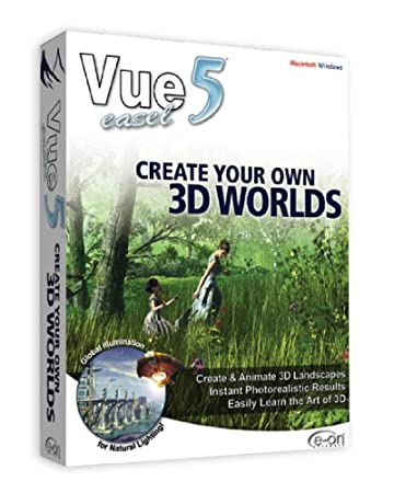 Vue 5 Easel: Create Your Own 3D Worlds (Win/Mac)