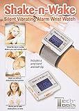 サイレントバイレーティング目覚まし時計シェイク-n-ウェイク(並行輸入品)