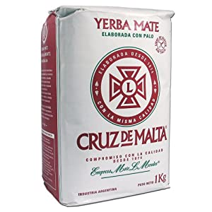 Yerba Mate Cruz de Malta - 3 bags of 2.2 Lbs each