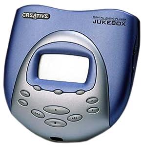 Creative Jukebox 6GB tragbarer MP3-Player blau
