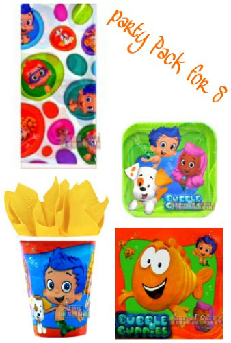 Bubble Guppies Party Pack for 8