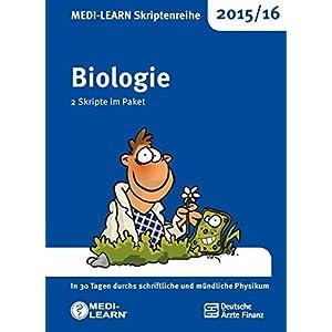 MEDI-LEARN Skriptenreihe 2015/16: Biologie im Paket: In 30 Tagen durchs schriftliche und mündliche