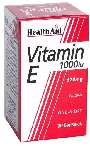 HealthAid Vitamin E 1000iu - 30 Capsules