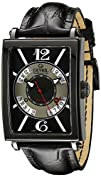 Gevril Mens 5050 Avenue Of Americas Analog Display Automatic