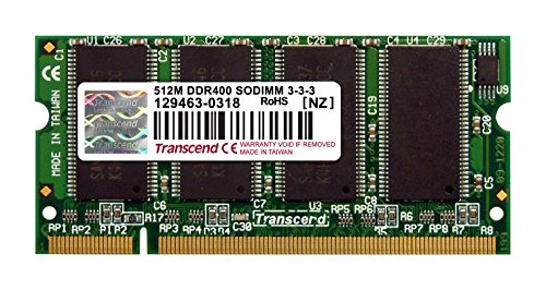 Transcend Memory 512 MB DDR 200Pin DDR400 SO-DIMM