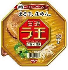 日清 ラ王 背脂コク醤油 123g×12個