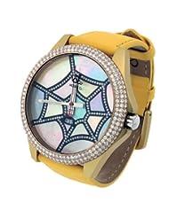 Jacob & Co. Unisex Swiss 47MM Yellow Duralumin Case Diamond Dial Watch 4.54CT