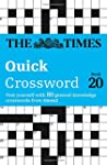 The Times Quick Crossword Book 20: 80...