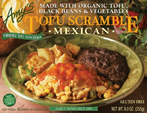 Amy's Mexican Tofu Scramble Organic, 9-Ounce Boxes (Pack of 12) Food ...