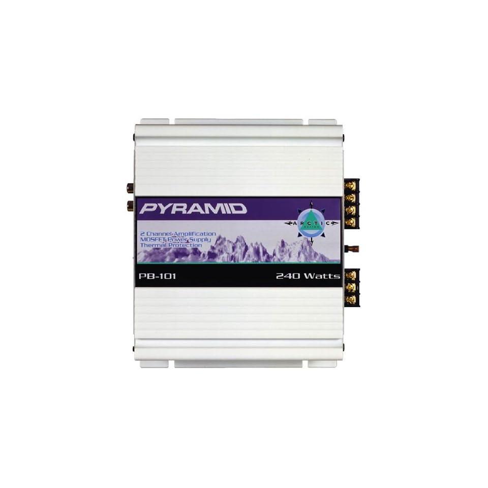 Pyramid RBPB101 240 Watt 2 Channel Amplifier