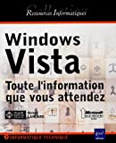 echange, troc Benoît Lanlard - Windows Vista : Toute l'information que vous attendez