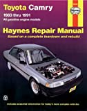 Toyota Camry, 1983-1991 (Haynes Manuals)