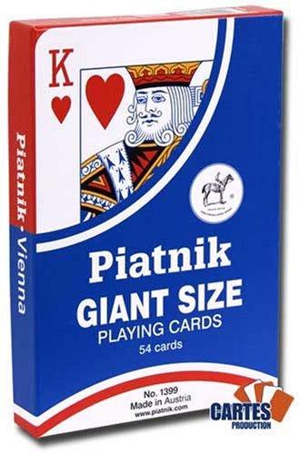 Jeu de 52 cartes : Giant Size