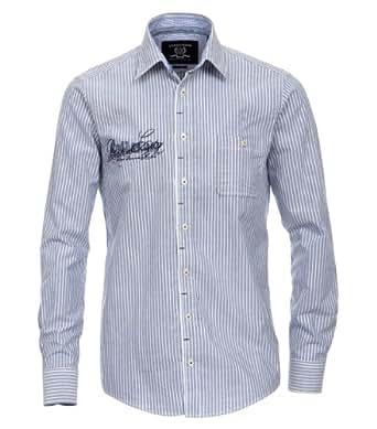 CASAMODA Herren Regular Fit Freizeithemd 441903900/101, Gr. Kragenweite: 48 cm (Herstellergröße: 3XL), Blau