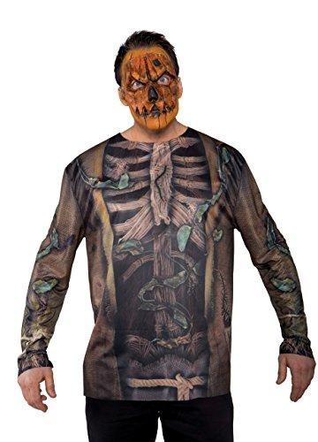 Underwraps Men's Scarecrow Photo Real Shirt - 1