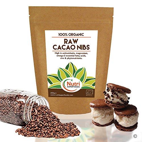 rohe-organische-kakaospitzen-vegane-schokolade-zutaten-ungesusstes-magnesium-reiches-superfood-fur-b