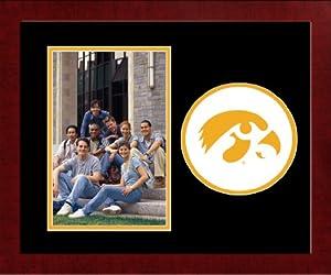 NCAA Iowa Hawkeyes University Spirit Photo Frame (Vertical)
