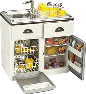 Pretend play toy product toy sink dishwasher for Kitchen set toys amazon