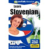 Talk Now Learn Slovenian: Essential Words and Phrases for Absolute Beginners (PC/Mac)by EuroTalk Limited