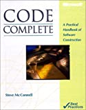 Code Complete: A Practical Handbook of Software Construction (1556154844) by McConnell, Steve