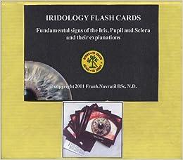 Iridology Flashcards / Tarjetas de Iridología (English and
