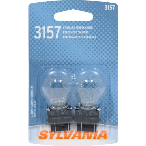 SYLVANIA 3157 Basic Miniature Bulb, (Contains 2 Bulbs) (Pontiac 2002 Grand Am Tail Lights compare prices)
