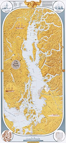 sobay-map-p002-inside-passage-to-stuart-island-salish-sea-27x58-wall-map-paper-or-laminated-paper