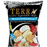 Terra Mediterranean Exotic Vegetable Chips, 6.8 Ounce Bags (Pack of 12)