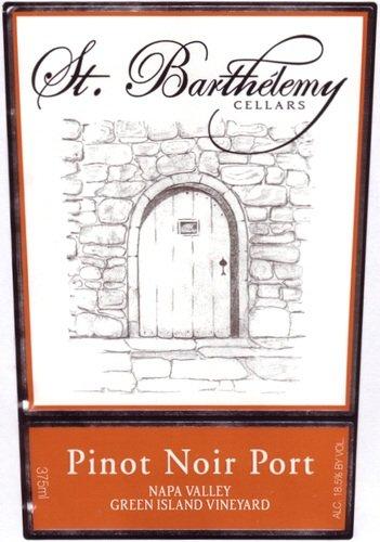 Nv St. Barthelemy Cellars Pinot Noir Port 375 Ml
