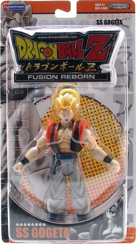 Buy Low Price Jakks Pacific Dragon Ball Z Fusion Reborn SS Gogeta Action Figure (B000RONSC6)