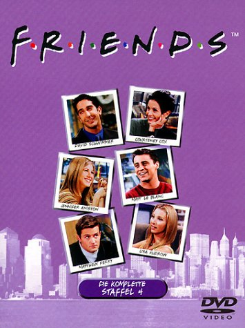 Friends - Die komplette Staffel 4 (4 DVDs)