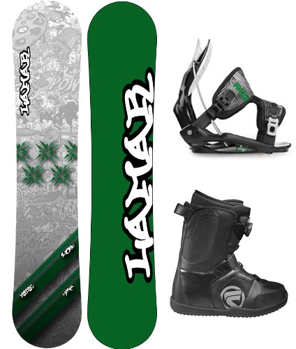Lamar Metric Complete Snowboard Package with Flow Flite 2 Bindings and Flow Vega BOA Men's Boots Board Size 161