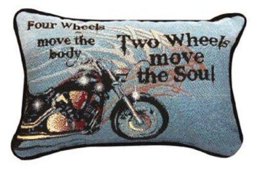 Manual 12.5 x 8.5-Inch Decorative Throw Pillow,