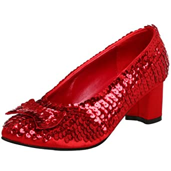 Funtasma by Pleaser Women's Dorothy-01 Pump,Red Sequins,6 M