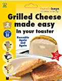 2 x Toastabags - Grilled Cheese Made Easy in Your Toaster. Up to 100 Times