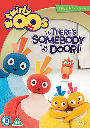 Twirlywoos - There's Somebody At The Door WITH FREE POSTER [DVD]