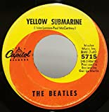 The Beatles Yellow Submarine / Eleanor Rigby 45 rpm single