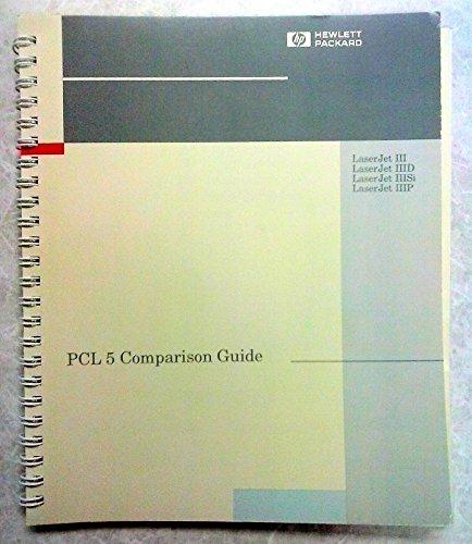 perbandingan printer - PCL 5 printer Panduan Referensi bahasa teknis, referensi manual pencetakan bahasa kerja teknis, PCL 5 Panduan Perbandingan