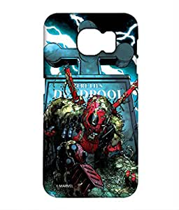 Here Lies Deadpool Phone Cover for Samsung S7 by Block Print Company