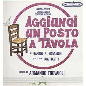 Armando trovaioli paolo panelli bice valori daniela goggi johnny dorelli aggiungi un posto - Aggiungi un posto a tavola dorelli ...