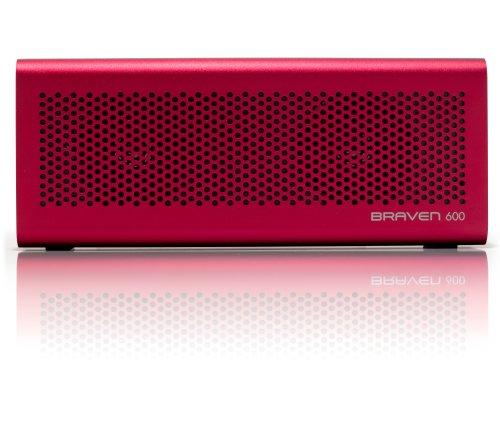 Braven BZ600RBA 600 Wireless Bluetooth Speaker/PowerBank - R