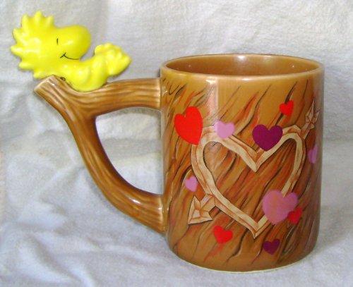 peanuts-woodstock-love-hearts-mug-vintage-teleflora-gift-cup