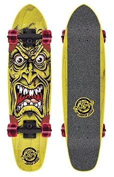 SANTA CRUZ Rob Face Skateboard complet cruiser Jaune 6,4 x 25,3 pouces