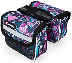 600D 210D Polyester and EVA Colorful Bicycle Frame Bag